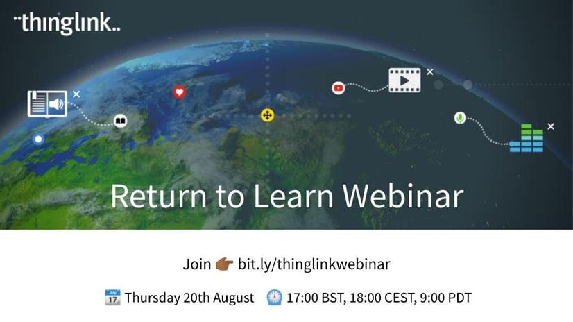 Return to Learn Webinar