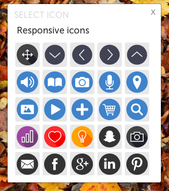 Responsive SVG icons